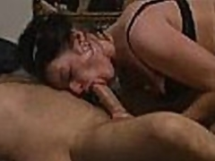 Great intimate video I stole from my neighbors computer, featuring his horny older wife jacking him off and blowing im so diligently that he spurts his cum out twice in less than ten minutes! I used to listen to them fucking, but I had no idea that chick was this good!