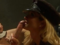 Lustful Policewoman Jessica Drake Fucking and Spanking In Uniform