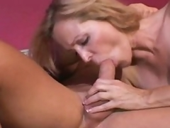 Nicole Moore slathers cock and acquires it buried in snatch