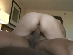 Mature gets it in the ass in hotel room