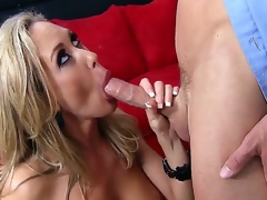 Brandi Love is a smokin' hot milf who feels willing to be cured by her docotr Johnny Sins