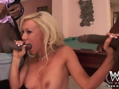 WCP Club Naughty housewife likes two BBC