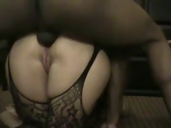 Big Ass White Woman Serious Anal Sex with Black Chap