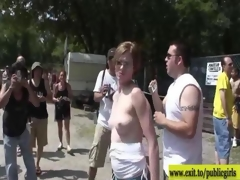 hundreds of amateurs exposed in public