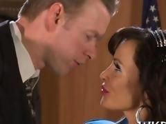 Hot shot lawyer bangs his MILF secretary