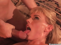 Darryl Hanah is a horny lascivious milf
