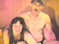 Corpulent ignorance milf sucks her man's unearth nearly a vintage glaze