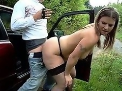 Big irritant german - amateur outdoor