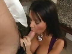 Busty brunette Victoria Valentina is drilled by Charles dera