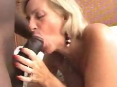 2 older sluts make interracial porn