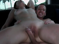 Sage Evans Makes The Van Floor Wet