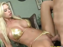 Seductive Milf Brooke Banner In Bikini